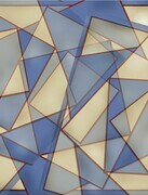 Abstract Triangles by Pennie Gibson