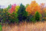 Autumn Landscape by David Wagner